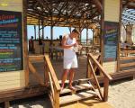Олександр Рибка в кафе Водограй