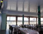 Готель Буревісник Затока  вид на море з кафе