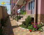Готель Буревісник Затока балкон и алея