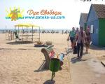 Пляж База отдыха Черноморские зори Затока