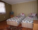Двухместный номер с ремонтом: Спальная комната на 2 места.