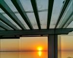 Закат на верхней терассе