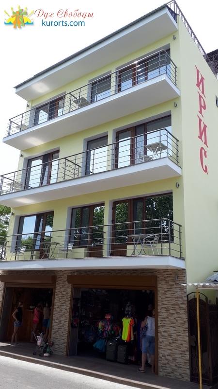 Отель Ирис Затоке