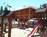 База отдыха Уют Затока фото детская площадка
