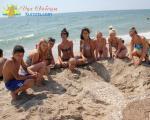 Санаторий Сергеевка фото 2 Дети на пляже