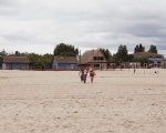 База отдыха Эдельвейс Затока фото пляж