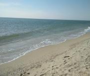 Затока центральный пляж апрель фото