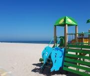 Затока центральный пляж Бригантина фото