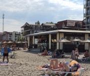 Затока центральный пляж кафе Водограй 19 июня фото
