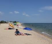 Затока 25 июня 2021 центральный пляж база отдыха Черноморские зори