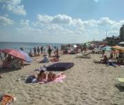 Затока центральный пляж 27 июня фото