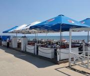 Затока центральный пляж набережная кафе 30 июня фото