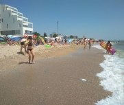 Затока центральный пляж база отдыха Престиж 8 июля фото