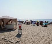 Затока центральный пляж база отдыха Престиж фото