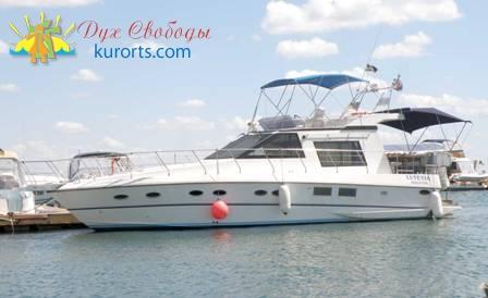 Прогулочная яхта для прогулок по морю и рыбалки в Затоке фото