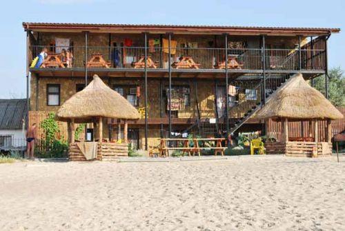 Селище Курортне база відпочинку перша лінія фото