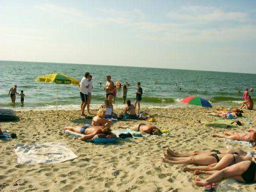 Затока центральный пляж отдыхающие как тюлени фото