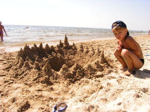 Замок из песка Затока