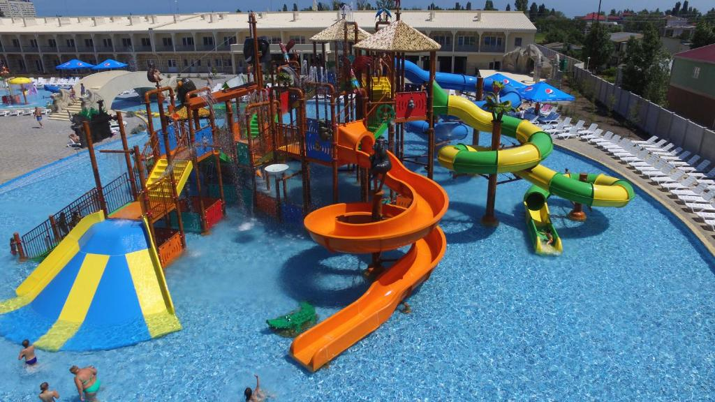 Аквапарк Затока детский комплекс фото