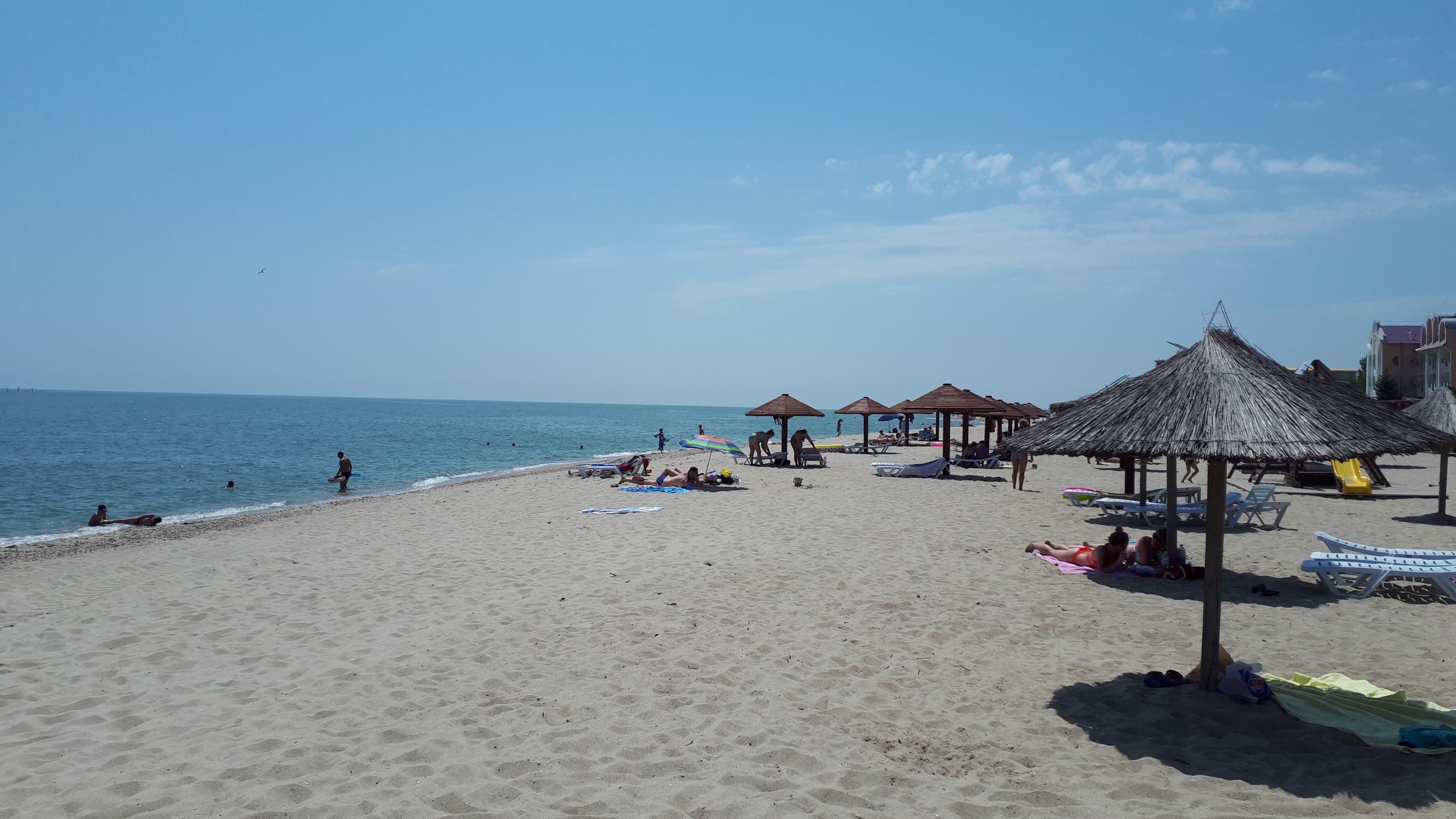 Затока центральний пляж база відпочинку Водограй фото
