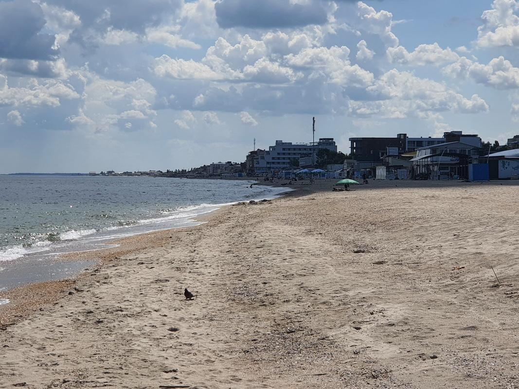 Затока центральный пляж июнь 2021 фото