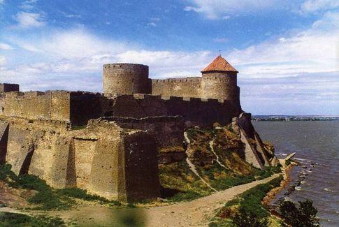 Белгород-Днестровская крепость вид на цитадель со стороны лимана фото