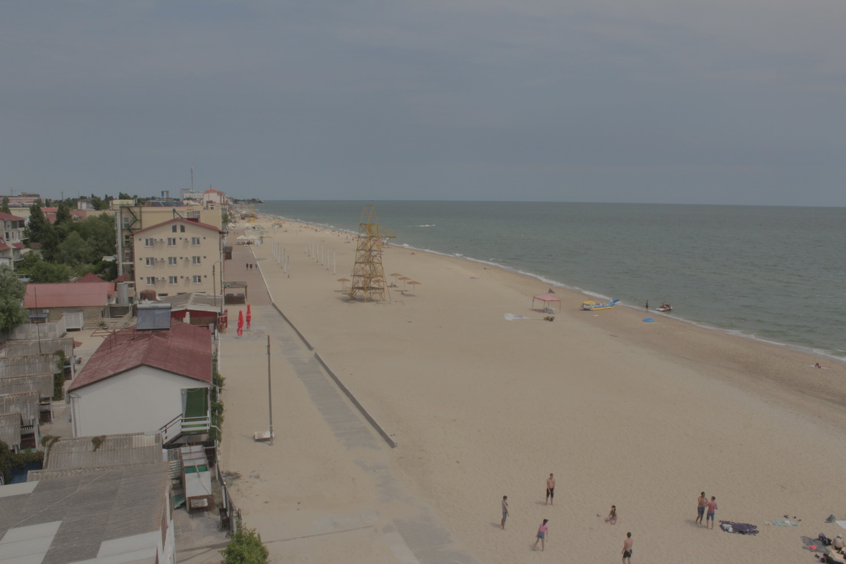Затока центральний пляж база відпичинку Елада фото